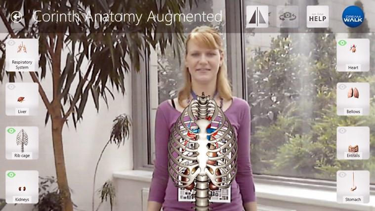 Corinth Micro Anatomy Augmented screen shot 5