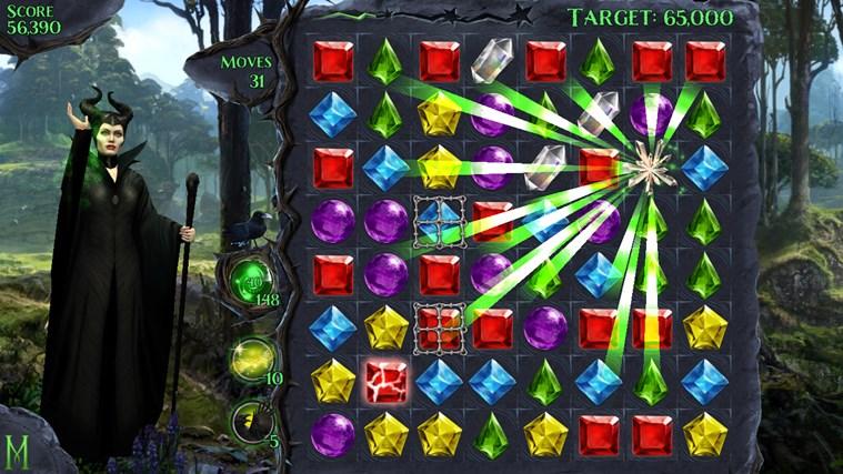 Maleficent Free Fall screen shot 1