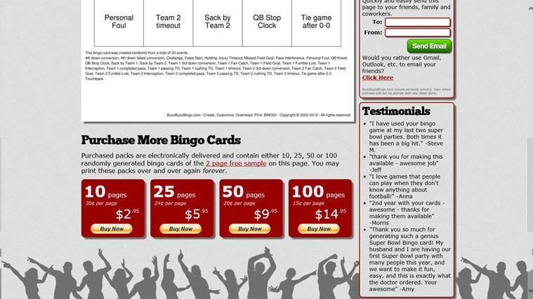Bingo Maker captura de tela 3