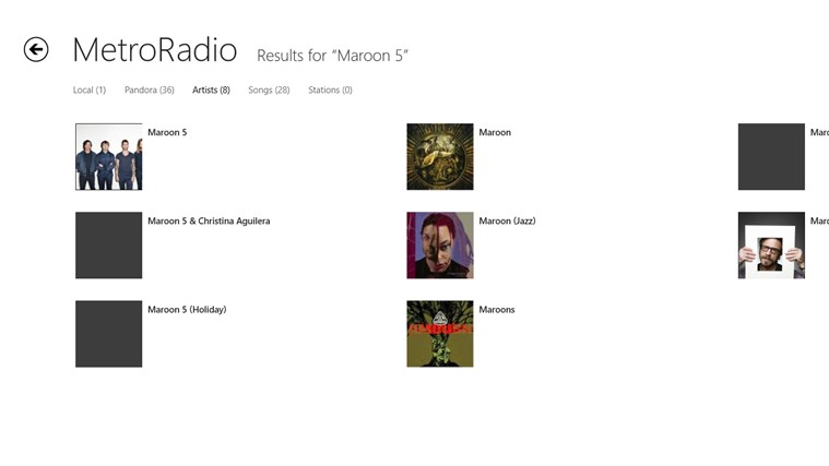 MetroRadio screen shot 7