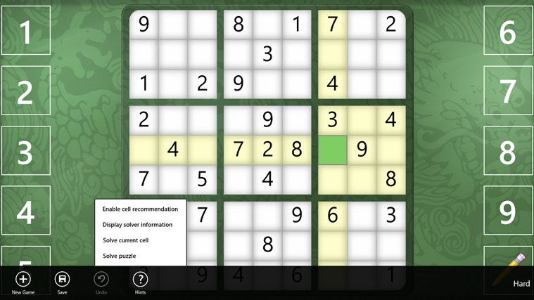 Sudoku Classic screen shot 1