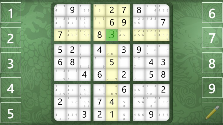 Sudoku Classic screen shot 7