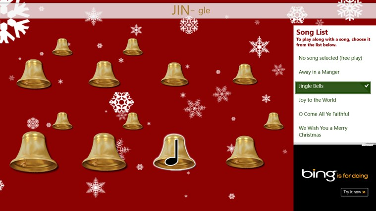 Christmas Bells screen shot 1