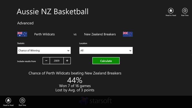 Aussie NZ Basketball screen shot 1
