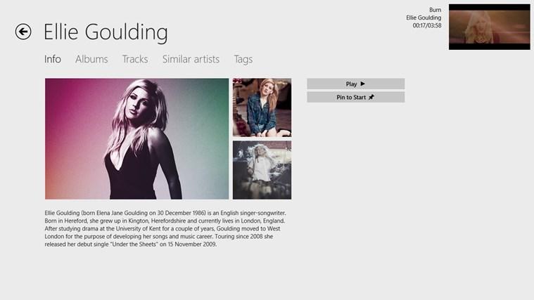 MusicTube screen shot 1