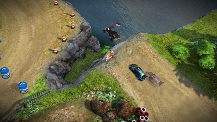 Reckless Racing Ultimate screen shot 1