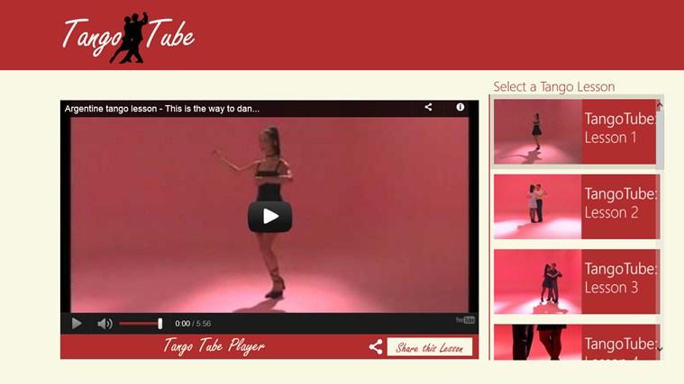 TangoTube screen shot 1