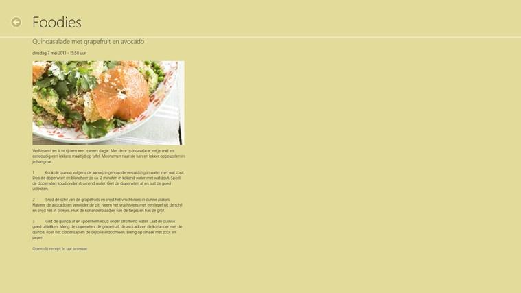 Kookrecepten schermafbeelding 1