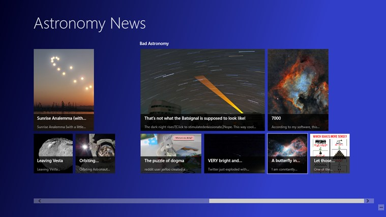 Astronomy News screen shot 1