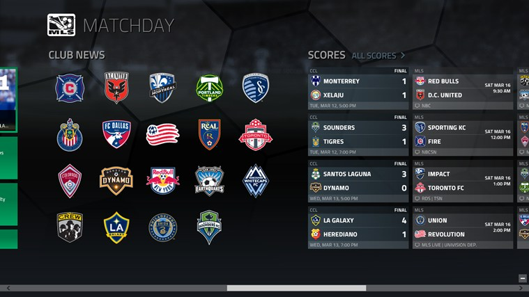 MLS MatchDay screen shot 3