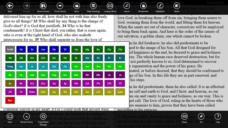 PocketBible Bible Study App screen shot 1