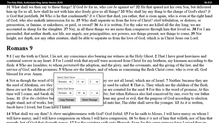 PocketBible Bible Study App screen shot 7