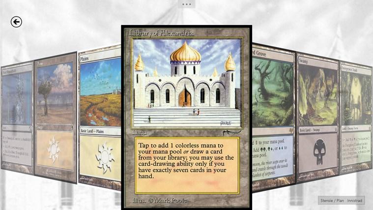 UrzaGatherer capture d'écran 1