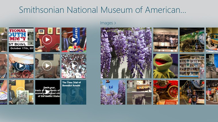 National Museum of American History Hub screen shot 1