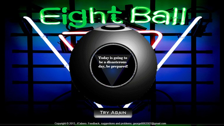 black ball app screen shot 1
