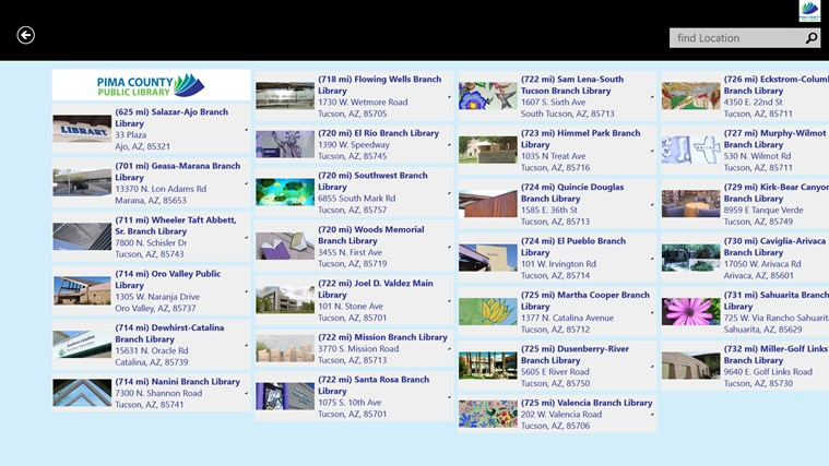 Pima County Public Library screen shot 3