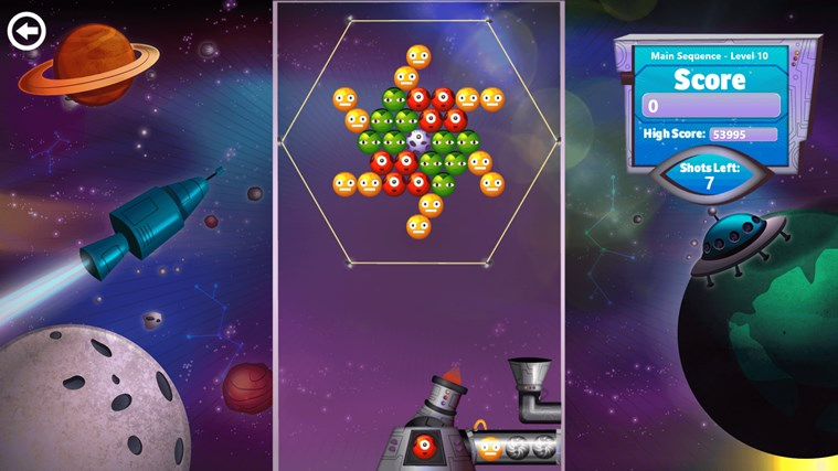 Bubble Star screen shot 1