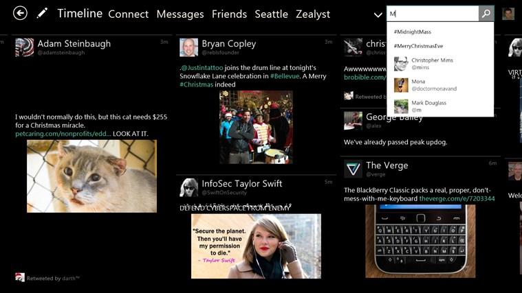 Tweetium screen shot 7