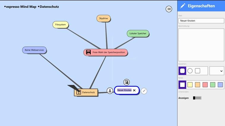 espresso Mind Map Light Screenshot 3