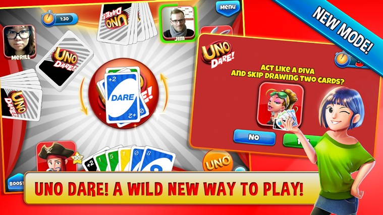 UNO ™ & Friends - The Classic Card Game Goes Social! screen shot 1