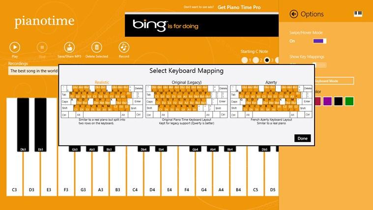 Piano Time snímek obrazovky 3