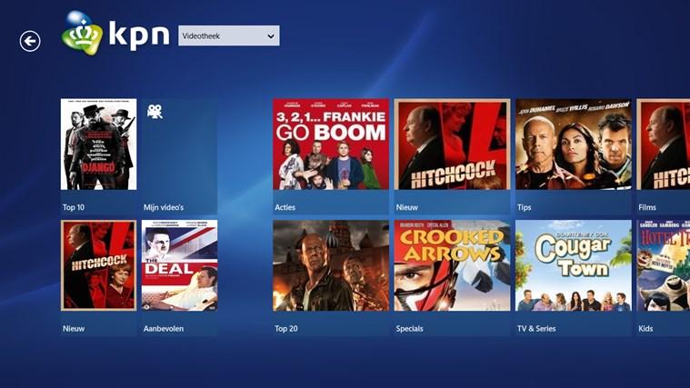 KPN iTV Online schermafbeelding 3