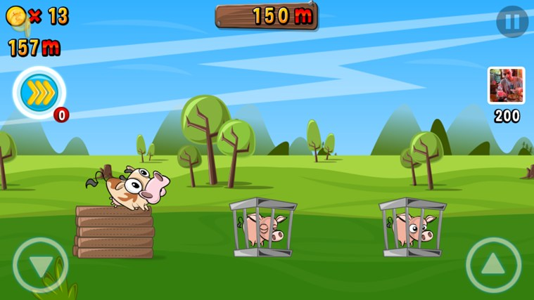 Run Cow Run screen shot 1