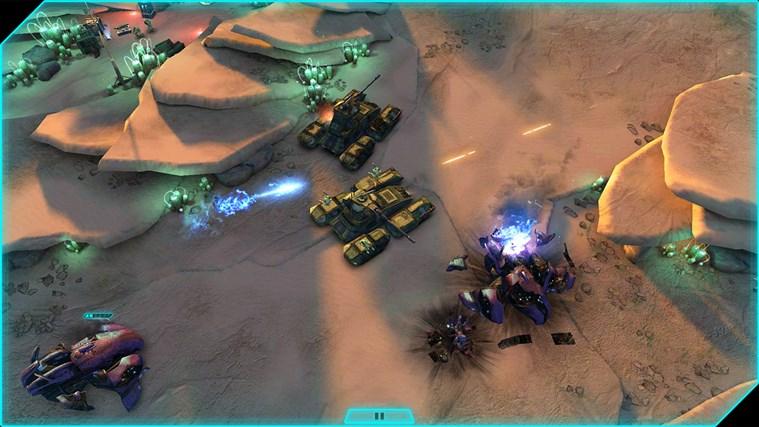 Halo: Spartan Assault schermafbeelding 1
