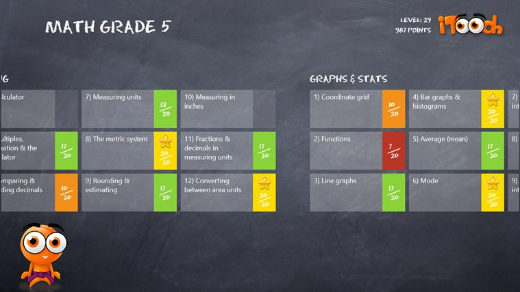 Math Grade 5 screen shot 1