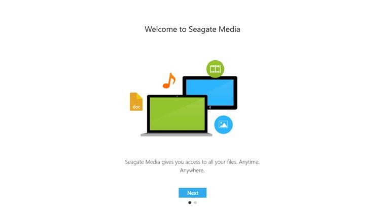 Seagate Media screen shot 3