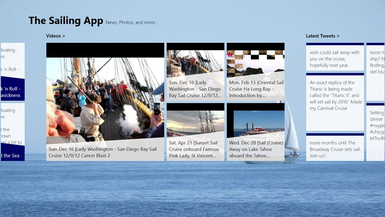 The Sailing App screen shot 1