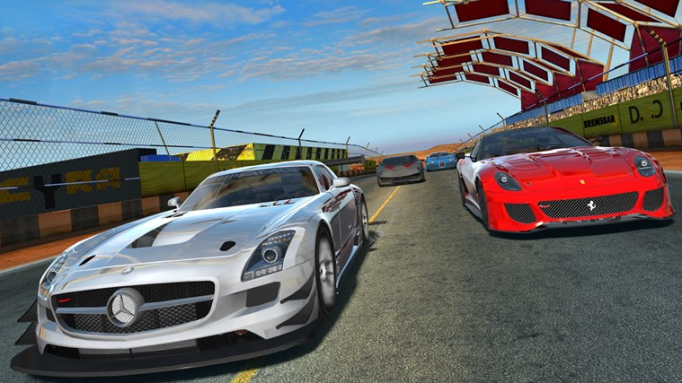 GT Racing 2: The Real Car Experience screen shot 1