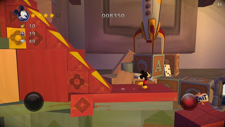 Castle of Illusion Starring Mickey Mouse screen shot 3