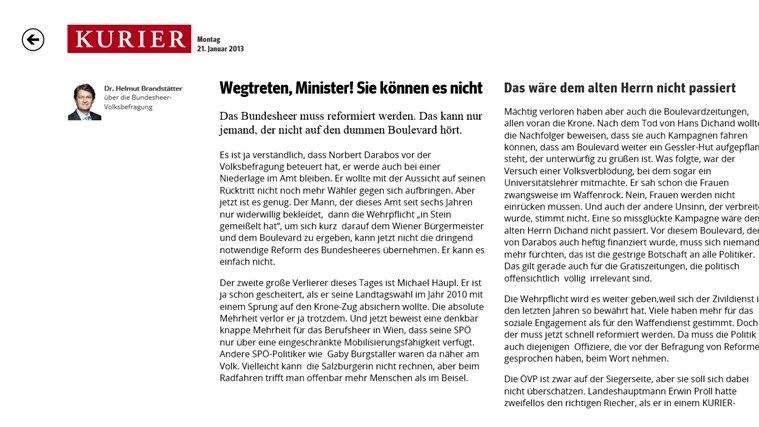 KURIER.at Screenshot 3