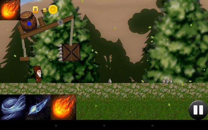 The Wandering Wizard screen shot 1