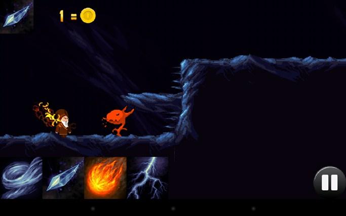 The Wandering Wizard screen shot 3