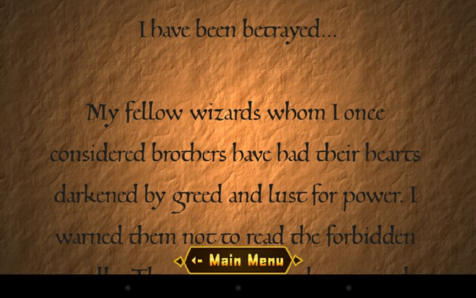 The Wandering Wizard screen shot 5