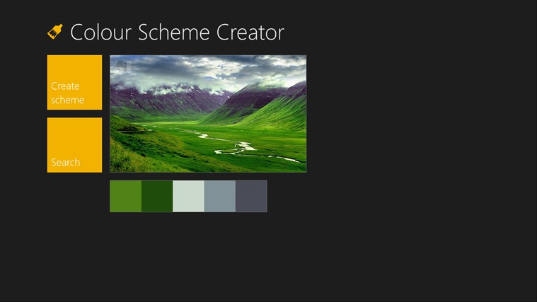 Color Scheme Creator screen shot 3