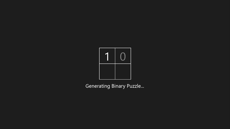 Binary Puzzle screen shot 3