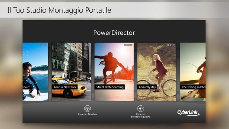 PowerDirector Mobile cattura di schermata 1
