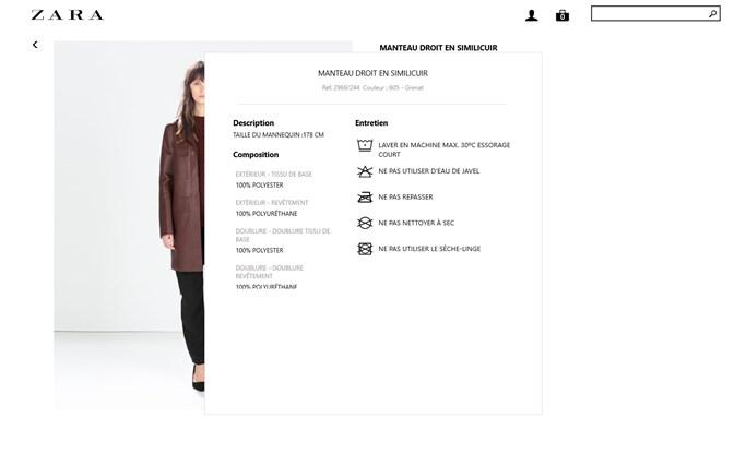 Zara capture d'écran 5
