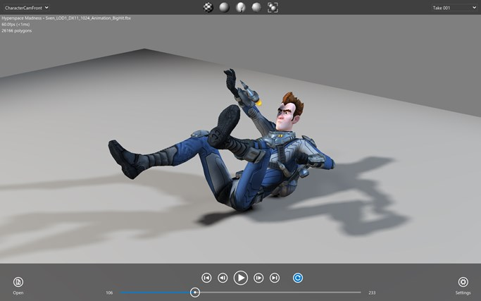 FBX Review screen shot 3