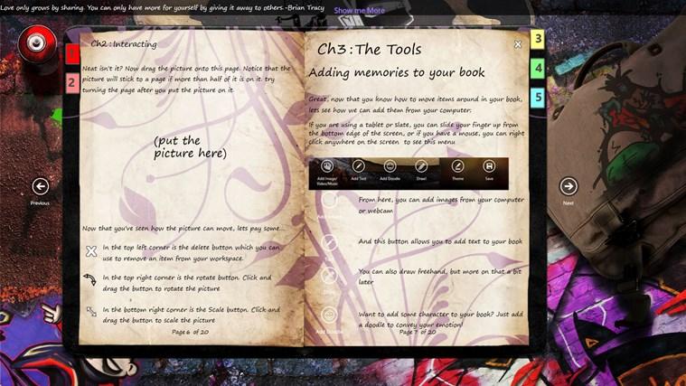 Journal screen shot 1