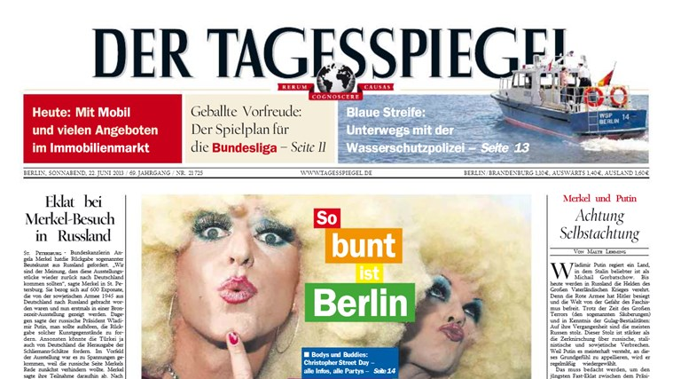 Der Tagesspiegel Screenshot 1