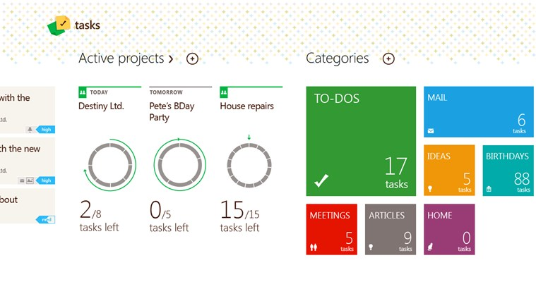 Tasks by Telerik screen shot 1