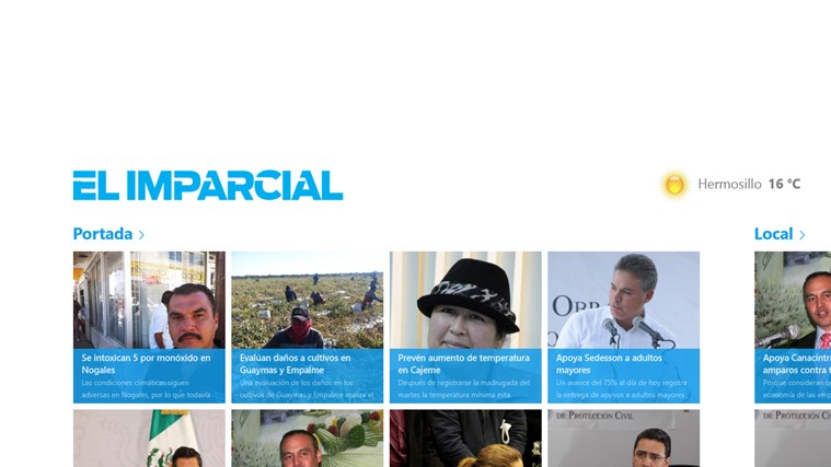 El Imparcial screen shot 1