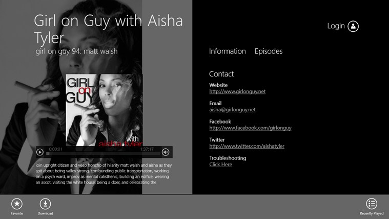 Girl on Guy with Aisha Tyler Screenshot 1