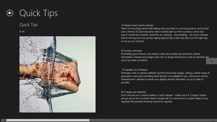 Digital Photography Guide n Tricks screen shot 3