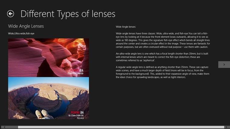 Digital Photography Guide n Tricks screen shot 7