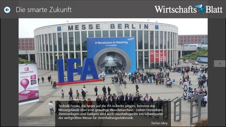 Wirtschaftsblatt Screenshot 5